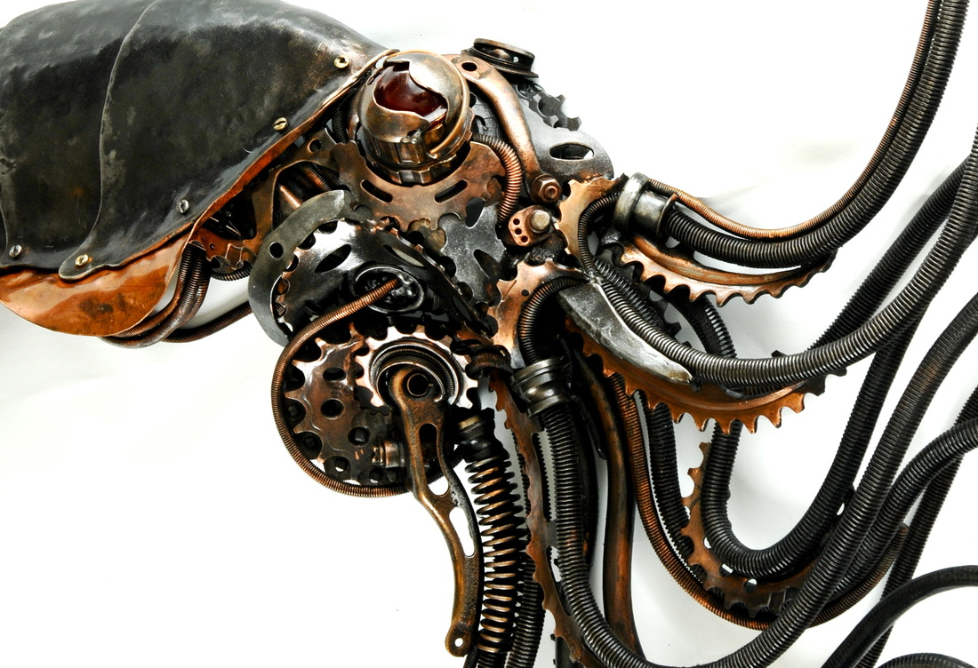 Alan Williams Metal Artist - Squid