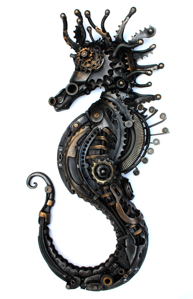 Alan Williams Metal Artist - Sea Horse